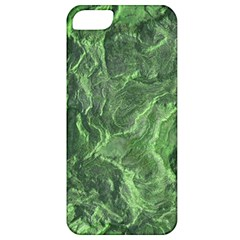 Green Geological Surface Background Apple Iphone 5 Classic Hardshell Case