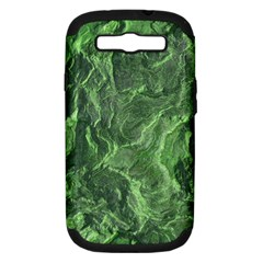 Green Geological Surface Background Samsung Galaxy S Iii Hardshell Case (pc+silicone)