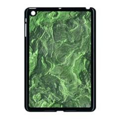 Green Geological Surface Background Apple Ipad Mini Case (black)