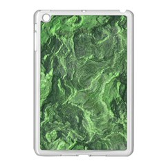Green Geological Surface Background Apple Ipad Mini Case (white)