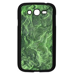 Green Geological Surface Background Samsung Galaxy Grand Duos I9082 Case (black)