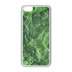 Green Geological Surface Background Apple Iphone 5c Seamless Case (white)