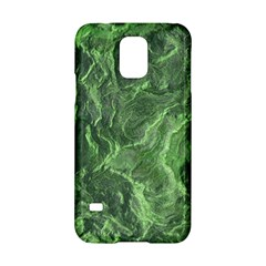 Green Geological Surface Background Samsung Galaxy S5 Hardshell Case