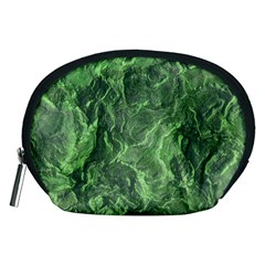 Green Geological Surface Background Accessory Pouches (medium)