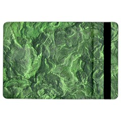 Green Geological Surface Background Ipad Air 2 Flip