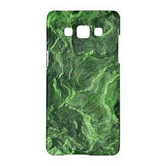 Green Geological Surface Background Samsung Galaxy A5 Hardshell Case