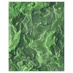 Green Geological Surface Background Drawstring Bag (small)