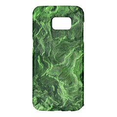 Green Geological Surface Background Samsung Galaxy S7 Edge Hardshell Case