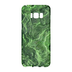 Green Geological Surface Background Samsung Galaxy S8 Hardshell Case