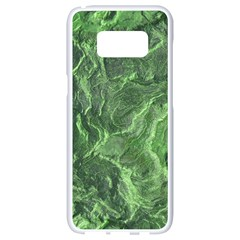 Green Geological Surface Background Samsung Galaxy S8 White Seamless Case