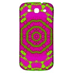 Fern Forest Star Mandala Decorative Samsung Galaxy S3 S Iii Classic Hardshell Back Case by pepitasart