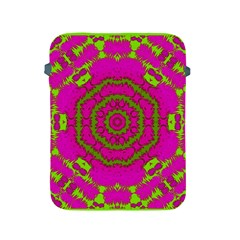 Fern Forest Star Mandala Decorative Apple Ipad 2/3/4 Protective Soft Cases by pepitasart