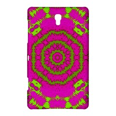 Fern Forest Star Mandala Decorative Samsung Galaxy Tab S (8 4 ) Hardshell Case  by pepitasart