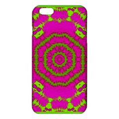 Fern Forest Star Mandala Decorative Iphone 6 Plus/6s Plus Tpu Case by pepitasart