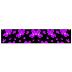 Pretty Flowers Small Flano Scarf by pepitasart