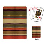 4th Doctor s Scarf Playing Cards - Playing Cards Single Design