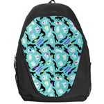 Turquoise Silken Windhound Backpack - Backpack Bag