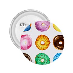 Donuts 2 25  Buttons by KuriSweets