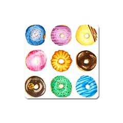 Donuts Square Magnet by KuriSweets