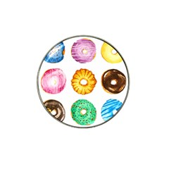 Donuts Hat Clip Ball Marker (10 Pack)