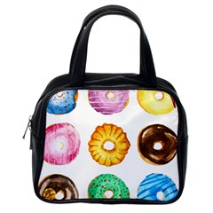 Donuts Classic Handbags (one Side)