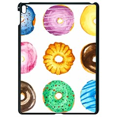 Donuts Apple Ipad Pro 9 7   Black Seamless Case by KuriSweets