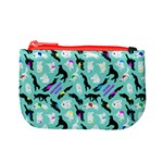 Turquoise Silken Windhound Coin Purse - Mini Coin Purse