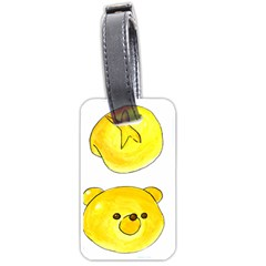 Bread Luggage Tags (two Sides) by KuriSweets