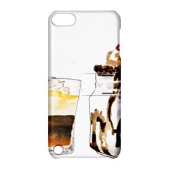 Coffee And Milkshakes Apple Ipod Touch 5 Hardshell Case With Stand by KuriSweets