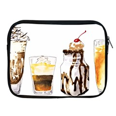 Coffee And Milkshakes Apple Ipad 2/3/4 Zipper Cases by KuriSweets