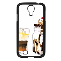 Coffee And Milkshakes Samsung Galaxy S4 I9500/ I9505 Case (black) by KuriSweets