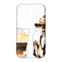 Coffee And Milkshakes Samsung Galaxy S4 Classic Hardshell Case (pc+silicone) by KuriSweets