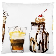 Coffee And Milkshakes Standard Flano Cushion Case (one Side) by KuriSweets