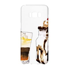 Coffee And Milkshakes Samsung Galaxy S8 Hardshell Case