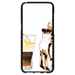 Coffee And Milkshakes Samsung Galaxy S8 Black Seamless Case by KuriSweets