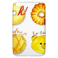 Cute Bread Samsung Galaxy Tab 3 (8 ) T3100 Hardshell Case  by KuriSweets