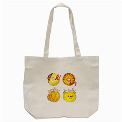 Bread Stickers Tote Bag (cream) by KuriSweets