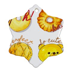 Bread Stickers Ornament (snowflake)