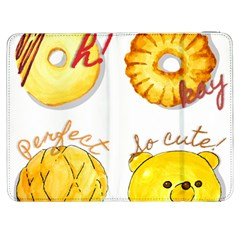 Bread Stickers Samsung Galaxy Tab 7  P1000 Flip Case by KuriSweets
