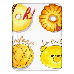 Bread Stickers Samsung Galaxy Tab 3 (10 1 ) P5200 Hardshell Case  by KuriSweets
