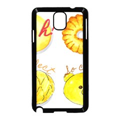 Bread Stickers Samsung Galaxy Note 3 Neo Hardshell Case (black) by KuriSweets