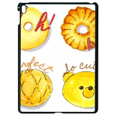 Bread Stickers Apple Ipad Pro 9 7   Black Seamless Case by KuriSweets