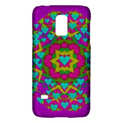 Hearts In A Mandala Scenery Of Fern Galaxy S5 Mini by pepitasart