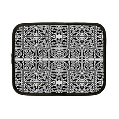 Dark Oriental Ornate Pattern Netbook Case (small)  by dflcprints