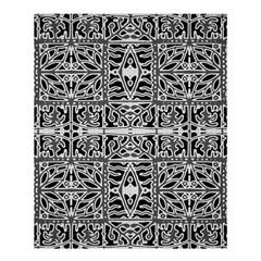 Dark Oriental Ornate Pattern Shower Curtain 60  X 72  (medium)  by dflcprints