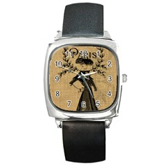Vintage 1060201 1920 Square Metal Watch by vintage2030