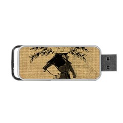 Vintage 1060201 1920 Portable Usb Flash (two Sides) by vintage2030