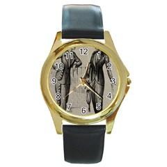 Vintage 1060195 1920 Round Gold Metal Watch by vintage2030