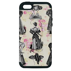 Vintage 1064132 1920 Apple Iphone 5 Hardshell Case (pc+silicone) by vintage2030