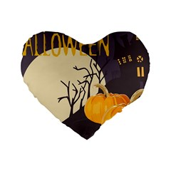 Halloween 979495 1280 Standard 16  Premium Heart Shape Cushions by vintage2030